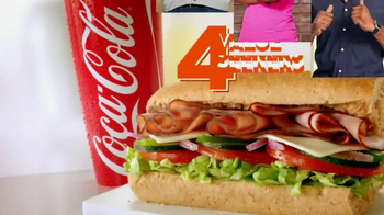 Subway $4 Lunch TV Spot, '4 Everyone' - Thumbnail 2