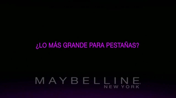 Maybelline New York Falsies Big Eyes TV Spot [Spanish] - Thumbnail 1