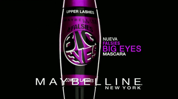 Maybelline New York Falsies Big Eyes TV Spot [Spanish] - Thumbnail 10