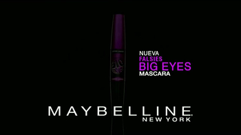Maybelline New York Falsies Big Eyes TV Spot [Spanish] - Thumbnail 2