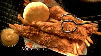 Popeyes Chicken Waffle Tenders TV Spot [Spanish] - Thumbnail 6