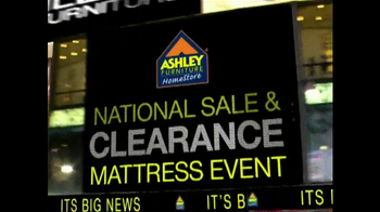 Ashley Furniture National Sale, Clearance Mattress Event TV Spot - Thumbnail 1