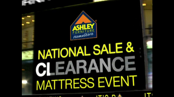 Ashley Furniture National Sale, Clearance Mattress Event TV Spot - Thumbnail 2