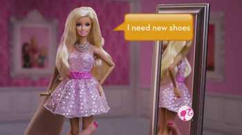 Barbie Talkin' Raquelle & Talkin' Barbie TV Spot, 'Need New Shoes'
