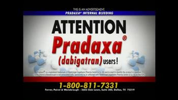 Ferrer, Poirot and Wansbrough TV Spot, 'Pradaxa' - Thumbnail 2