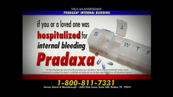 Ferrer, Poirot and Wansbrough TV Spot, 'Pradaxa'