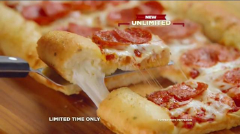 CiCi's Stuffed Crust Pizza TV Spot, 'Dream' Song by Gary Wright - Thumbnail 5