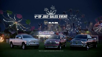 Ram Trucks Fourth of July Sale TV Spot, 'Let's Ride' Song by Easton Corbin