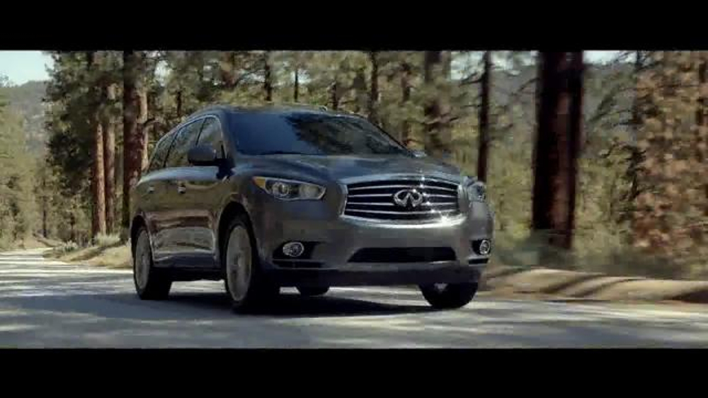 Infiniti car commercial