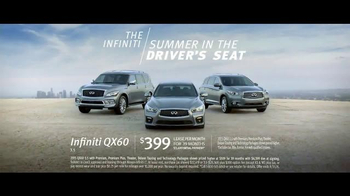 Infiniti QX60 TV Spot, 'Summer in the Driver's Seat: Summer Trips' - Thumbnail 7