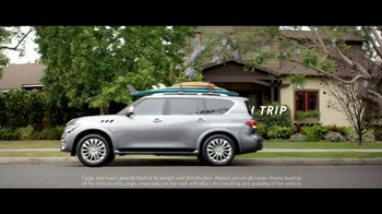 Infiniti QX60 TV Spot, 'Summer in the Driver's Seat: Summer Trips' - Thumbnail 5
