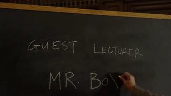 Jack in the Box Steak & Egg Breakfast Burrito TV Spot, 'Guest Lecturer' - Thumbnail 1
