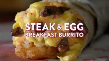 Jack in the Box Steak & Egg Breakfast Burrito TV Spot, 'Guest Lecturer' - Thumbnail 10