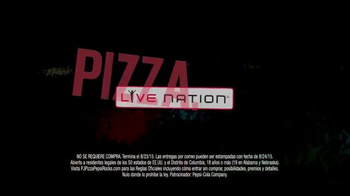 Papa John's TV Spot, 'Pizza. Pepsi. Rock.' [Spanish] - Thumbnail 5
