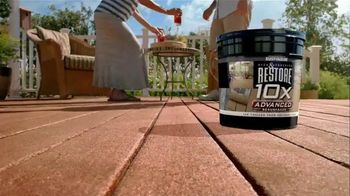 Rust-Oleum Restore 10X Advanced TV Spot, 'Public Boardwalk'