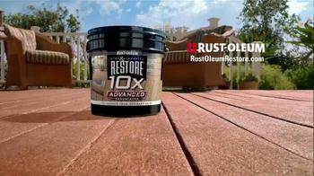 Rust-Oleum Restore 10X Advanced TV Spot, 'Public Boardwalk' - Thumbnail 5