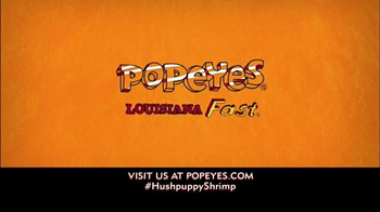 Popeyes Hushpuppy Butterfly Shrimp TV Spot, 'Seafood Joint' - Thumbnail 8