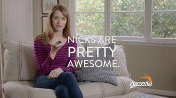 Gazelle.com TV Spot, 'Nicks are Pretty Awesome'