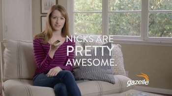 Gazelle.com TV Spot, 'Nicks are Pretty Awesome'