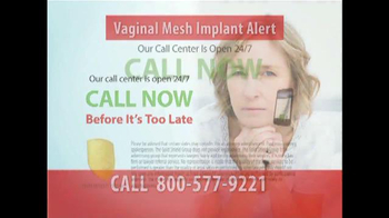 Gold Shield Group TV Spot, 'Vaginal Mesh Implant' - Thumbnail 9