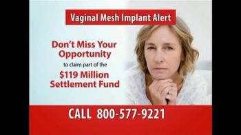 Gold Shield Group TV Spot, 'Vaginal Mesh Implant' - Thumbnail 8