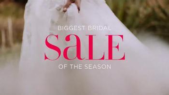 David's Bridal TV Spot, 'Sale of the Season' - Thumbnail 1