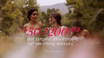 David's Bridal TV Spot, 'Sale of the Season' - Thumbnail 3