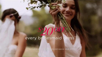 David's Bridal TV Spot, 'Sale of the Season' - Thumbnail 4