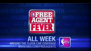 NBA TV Free Agent Fever TV Spot, \'Free Agent Season\'