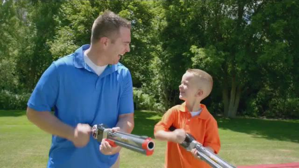 Rocket fishing rod tv commercial 39 fishing fun for the for Fishing rod for kids