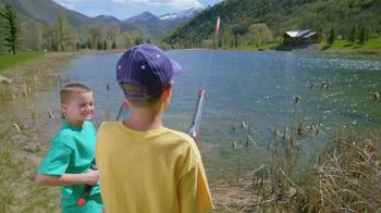 Rocket Fishing Rod TV Spot, 'Fishing Fun for the Kids' - Thumbnail 1