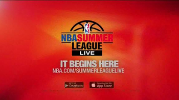 NBA Summer League Live App TV Spot - Thumbnail 4
