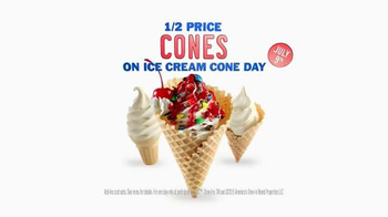 Sonic Drive-In Ice Cream Cone Day TV Spot, 'Everybody Except Bobby' - Thumbnail 7