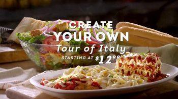 Olive Garden Create Your Own Tour of Italy TV Spot, 'A First' - Thumbnail 3