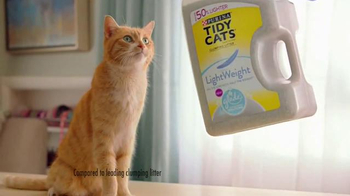 Purina Tidy Cats Lightweight Plus Glade TV Spot, \'Every Home, Every Cat\'