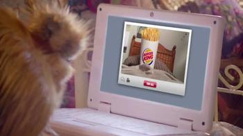 Burger King Chicken Fries TV Spot, 'Webchat' - Thumbnail 1