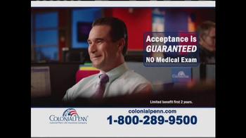 Colonial Penn Guaranteed Acceptance TV Spot, 'Hard Times' Feat. Alex Trebek - Thumbnail 7