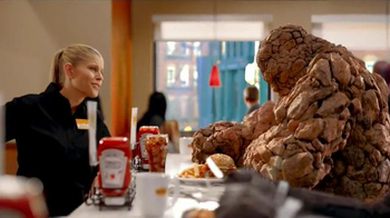 Denny's Thing Burger TV Spot, 'Fantastic Four' - Thumbnail 4