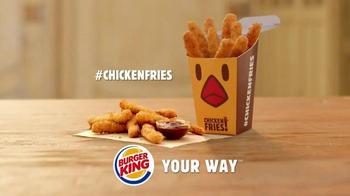 Burger King Chicken Fries TV Spot, 'Selfie' - Thumbnail 8