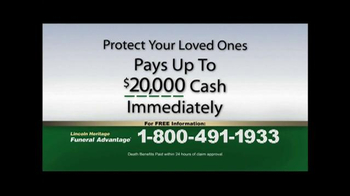 Funeral Advantage TV Spot, 'Protect Your Loved Ones' - Thumbnail 3