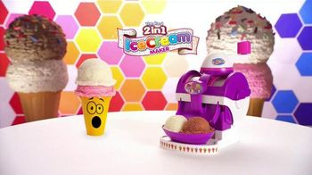 Cra-Z-Art The Real 2 in 1 Ice Cream Maker TV Spot, 'Double the Fun' - Thumbnail 1