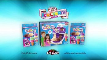 Cra-Z-Art The Real 2 in 1 Ice Cream Maker TV Spot, 'Double the Fun' - Thumbnail 9