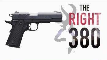 Browning 1911-380 TV Spot, 'The Right 380' - Thumbnail 10
