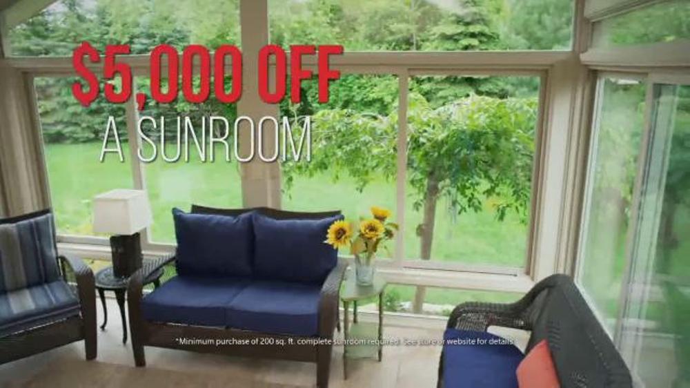 d7a83af9404572 Champion Sun Rooms TV Commercial