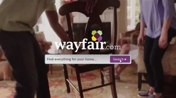 Wayfair TV Spot, 'Find Everything for Your Home'