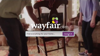 Wayfair TV Spot, 'Find Everything for Your Home' - 543 commercial airings
