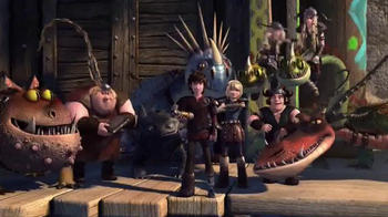 Netflix TV Spot, 'DreamWorks Dragons: Race to the Edge' - 395 commercial airings
