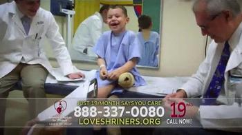 Shriners Hospitals For Children TV Spot, 'Alec' - Thumbnail 2
