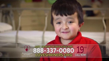 Shriners Hospitals For Children TV Spot, 'Alec' - Thumbnail 4