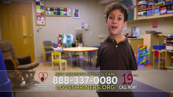 Shriners Hospitals For Children TV Spot, 'Alec' - Thumbnail 5